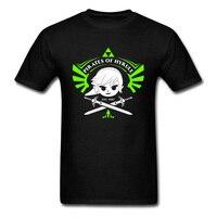Funny Cartoon Print Men T Shirt Pirates Of Hyrule Game Tshirt 2018 Summer Brand New T