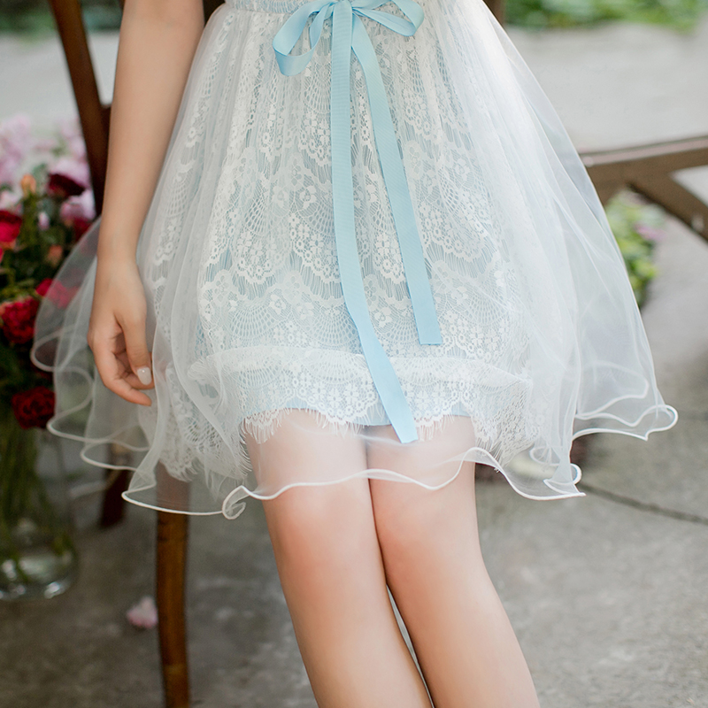 Принцесса сладкий Лолита конфеты дождь Гренадин чистый и свежий новый стиль цельнокроеное платье C22AB7128