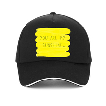 You Are My Sunshine Summer Print cap men women Fashion 100% Cotton baseball Cap Harajuku Hip Hop snapback hat bone casquette