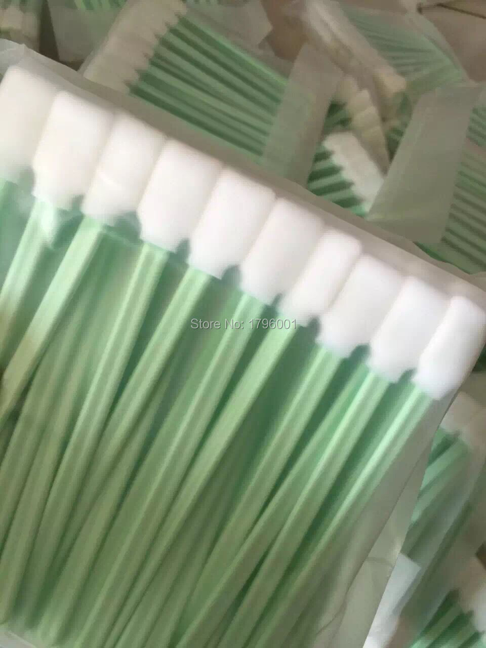 200 pcs Solvent Cleaning swabs Sticks DX2 DX4 DX5 DTG Print Head Cleaning Better than Printer
