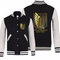 SHINGEKI NO KYOJIN ATTACK ON TITAN SURVEY CORPS freedom wings cosplay costume baseball jacket high school coat