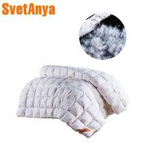 Модный стиль утка/гусиный пух пуховое одеяло кашне стеганое зимнее одеяло пуховое хлопковое постельное белье одинарное/queen/King size одеяло