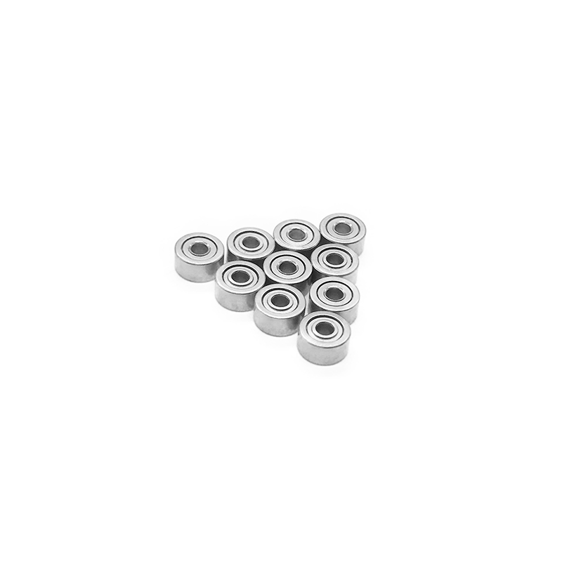 50pcs//lot MR105ZZ 5X10X4mm miniature deep groove Ball Bearings MR105 L-1050ZZ