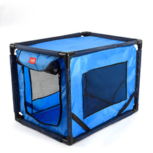 купить Pet Car Dog Transport Box Cage Dog Carrying For Small and medium dogs transportin Folding Pet tent Cage Dog Cat Tent Playpen по цене 2662.36 рублей