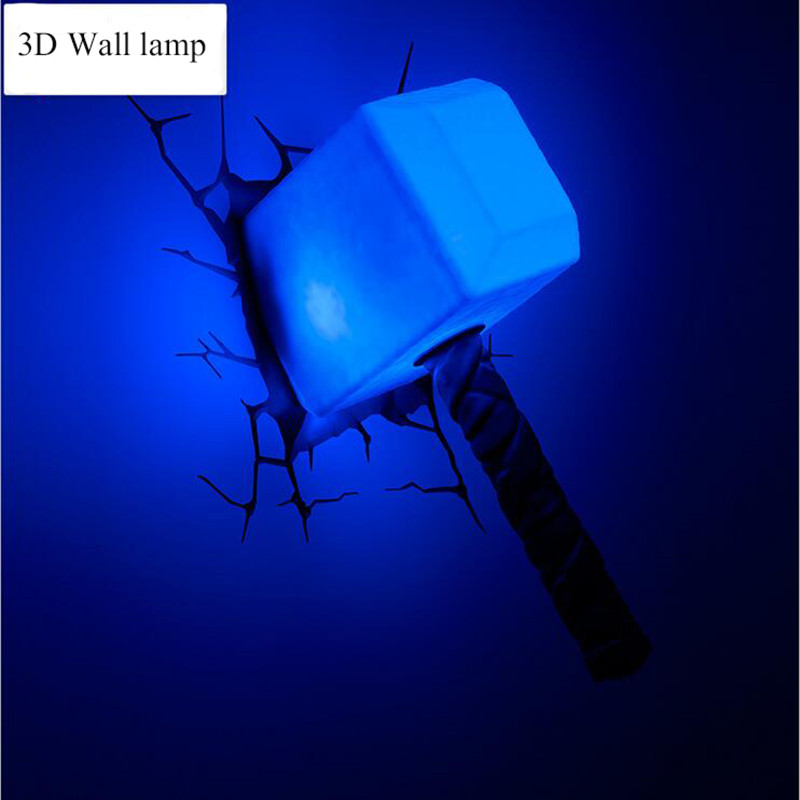 Wall Lamps Avengers : Online Get Cheap Thor Hammer Lamp -Aliexpress.com Alibaba Group
