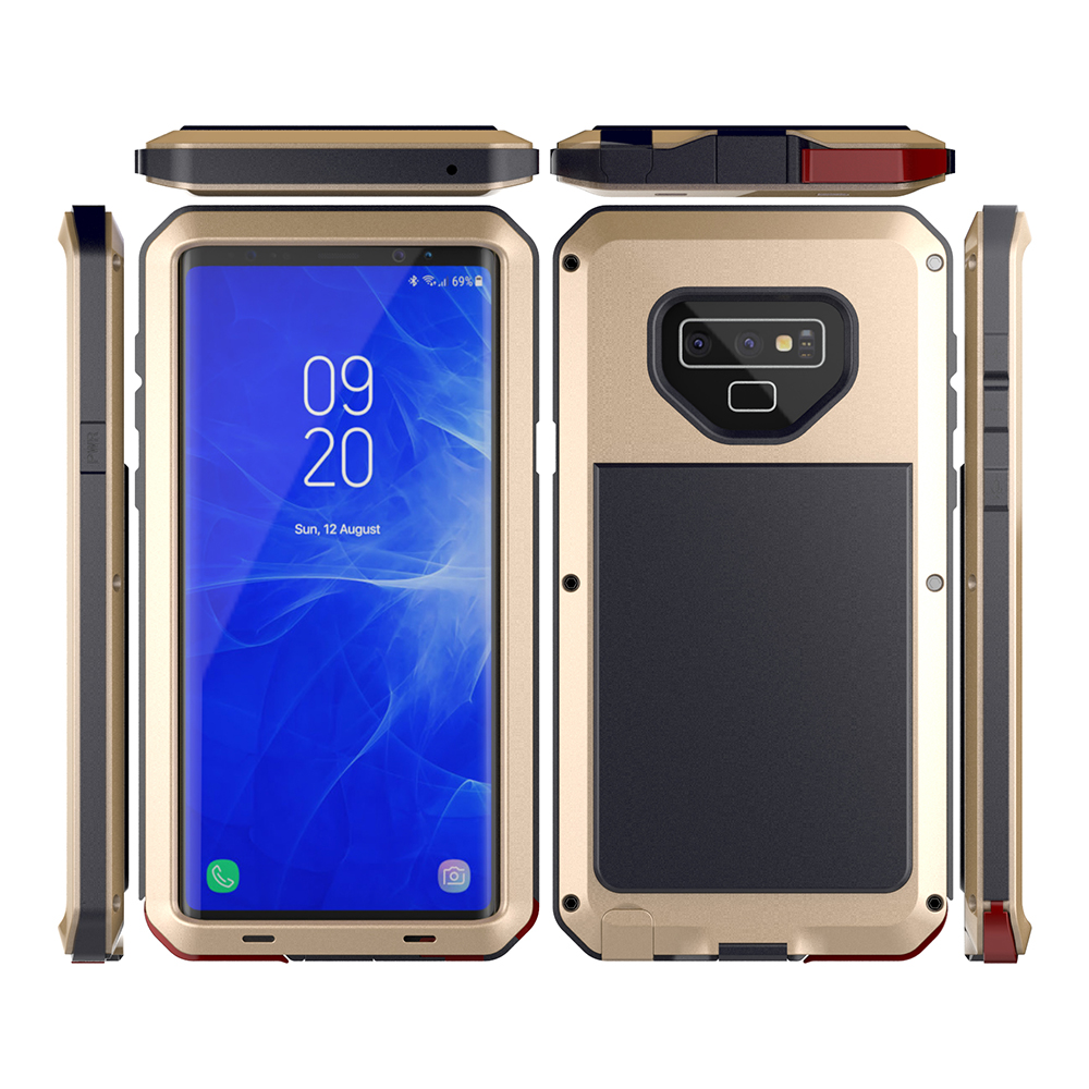 Luxury Heavy Duty Protection Mobile Phone Cases For Samsung Galaxy Note 9 8 5 4 3 Case