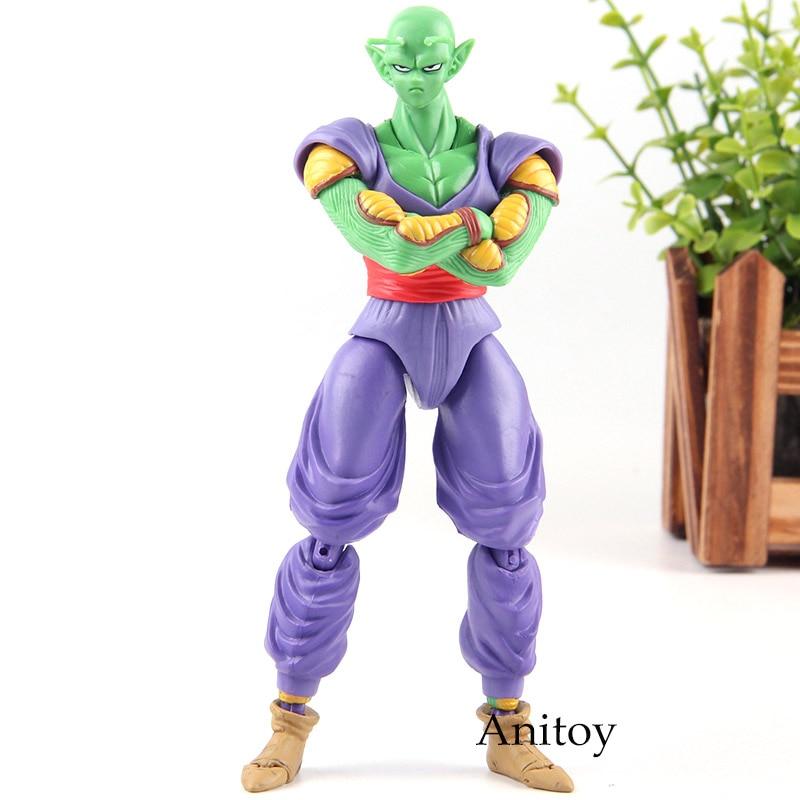 все цены на SHF Figuarts Dragon Ball Z Piccolo Action Figure PVC Piccolo Dragon Ball Figure Collection Model Toy Gift 16cm онлайн