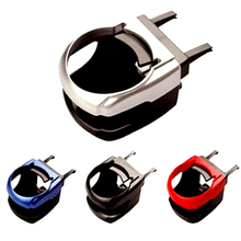 Support pour gobelet évents de voiture à 4 couleurs, support pour gobelet à eau pour voiture,(8.5*9.5*5.5cm, noir)
