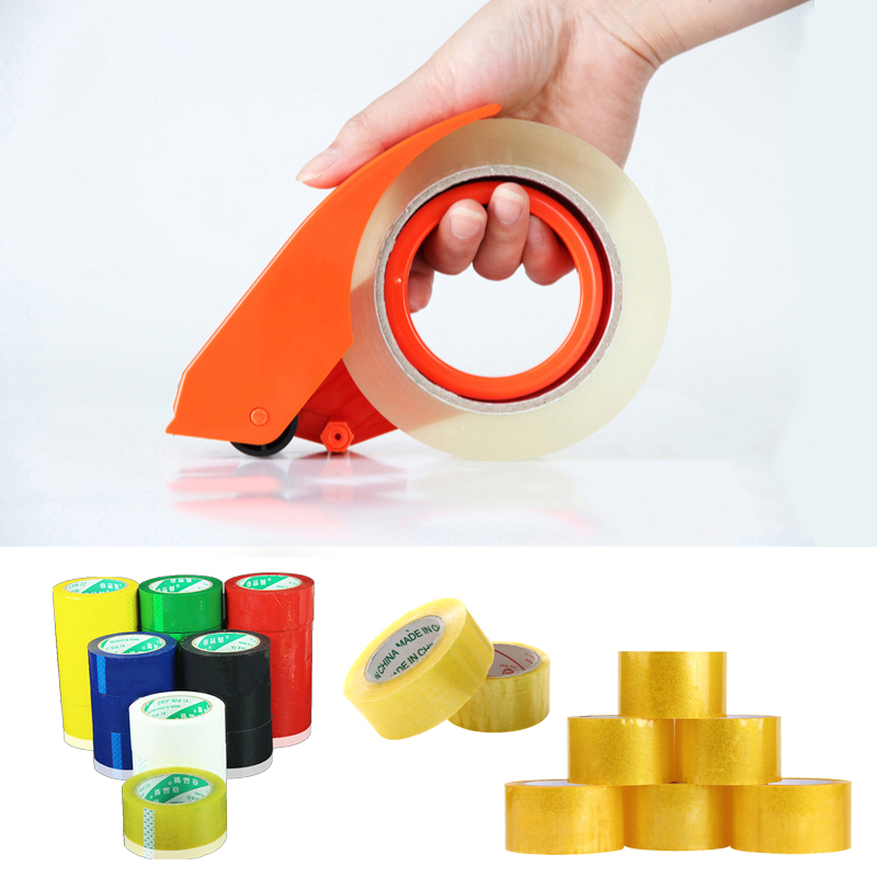 2 8cm Tape Sealing Device Slicer Baler Packing Machine Sealer Large Dispenser Width Metal Express Logistic Clamp Wrapper Packer in Storage Bags from Home Garden