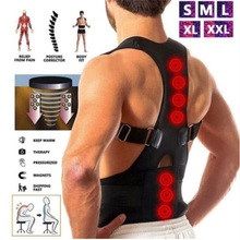 Magnetic Therapy Posture Corrector Bandage Spine Support Belt Adult Back Corset Shoulder Lumbar Back Support Posture Correction women back brace support posture corrector corset lumbar support belt upper back posture correction magnetic therapy pain relief