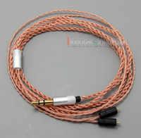 Cable de auriculares OCC de piel TPE para las orejas finales UE TF10 SF3 SF5 5EB 5pro TripleFi 15mv TF15 LN005048