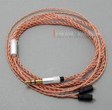 TPE Skin OCC Earphone Cable For Ultimate Ears UE TF10 SF3 SF5 5EB 5pro TripleFi 15vm TF15 LN005048
