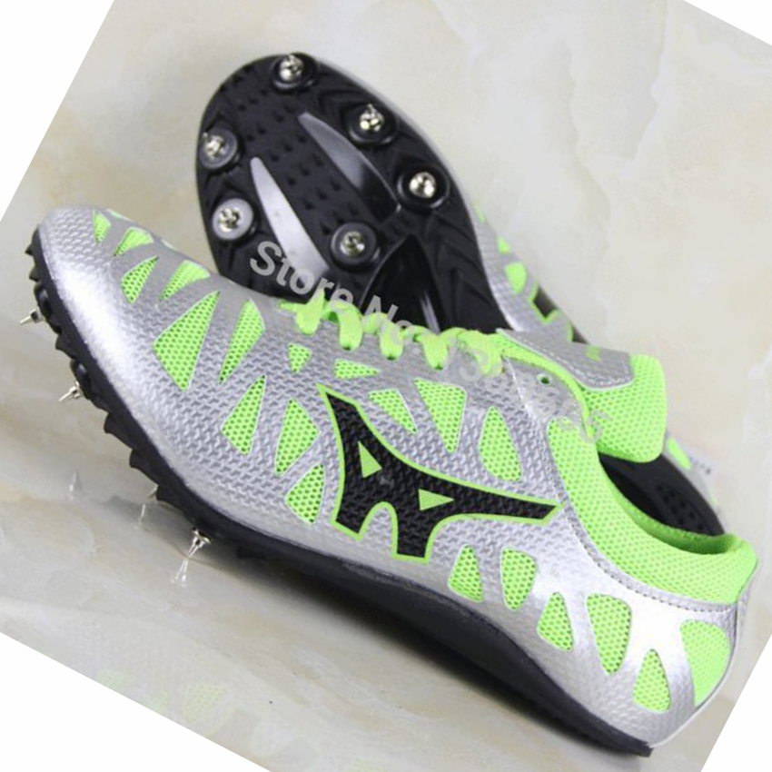outdoor sport sprint spikes running shoes men track field trainers shoes brand breathable dash running shoes men sneakers r236