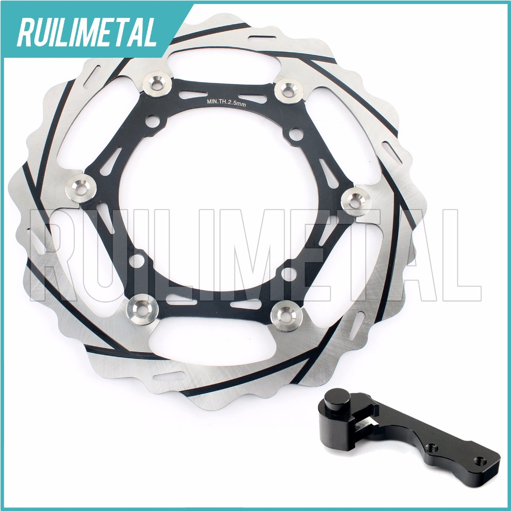 270mm oversize Front Brake Disc Rotor Bracket Adaptor for SUZUKI RMZ250 RMZ450 RMZ 450 250 RMX450 RMX-450 2010 2011 2012 high quality 270mm oversize front mx brake disc rotor for yamaha yz125 yz250 yz250f yz450f motorbike front mx brake disc