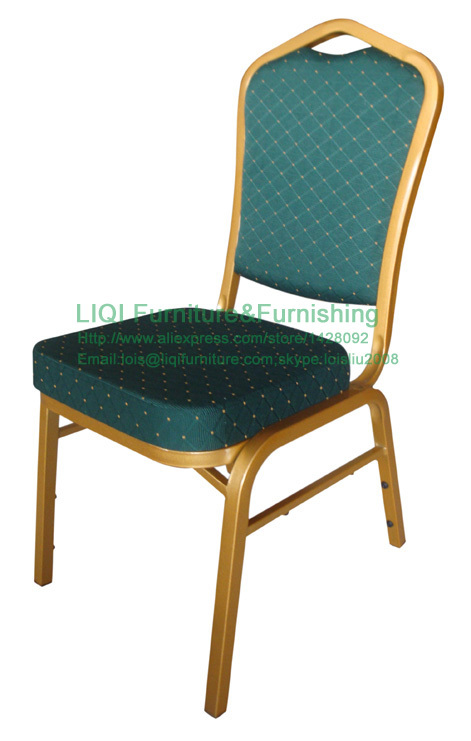 wholesale quality strong Stacking aluminum hotel meeting chairs LQ-L1020D ceramic 4 piece stacking
