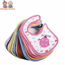 Anna & Joyce 20Pc /lot Cotton Baby Bibs Waterproof Infant