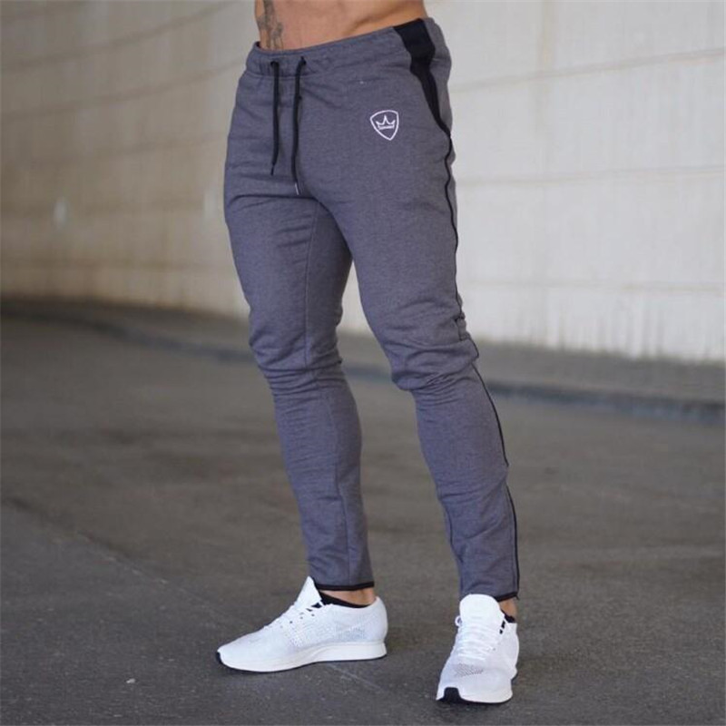 NANSHA New Gyms Men Casual Pants Workout Fitness Trackpants Men's Sweatpants Summer Joggers Fitness Trousers
