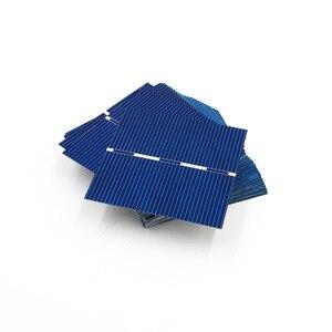 Image 5 - 0.43Watt 52X52mm Celle Solari FAI DA TE Pannello Solare Modulo Fotovoltaico Policristallino Solare FAI DA TE Caricabatteria Painel Solare