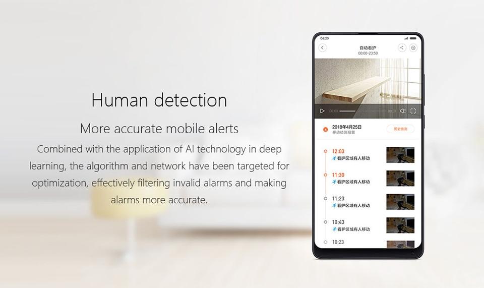 2019 Original Xiaomi Mijia Smart Camera 1080P HD 360 Camera