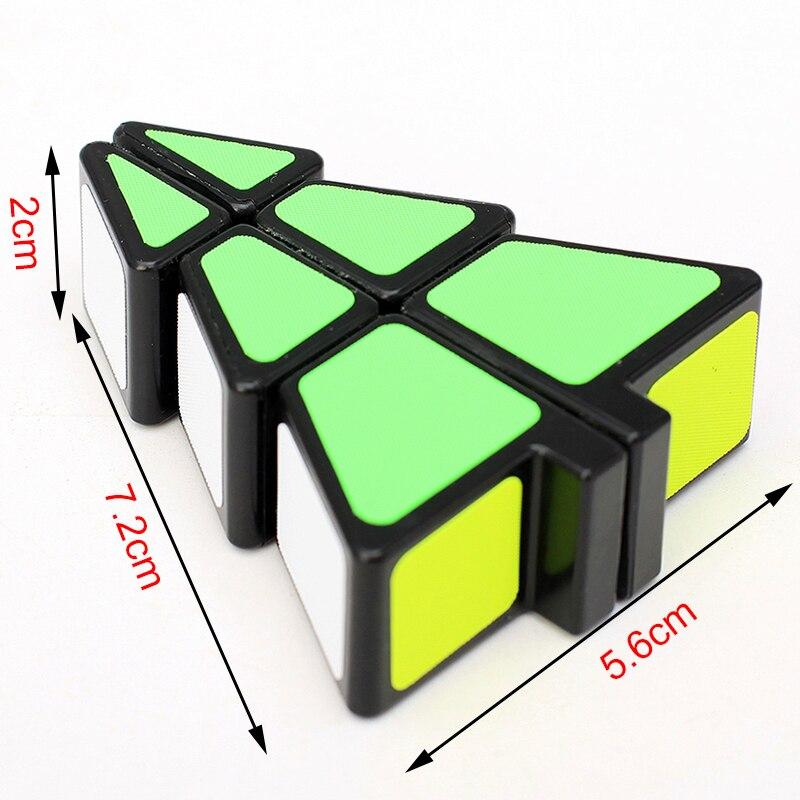 El más nuevo ZCUBE 1x2x3 Árbol de Navidad en forma de Cubo Mágico - Juegos y rompecabezas - foto 6