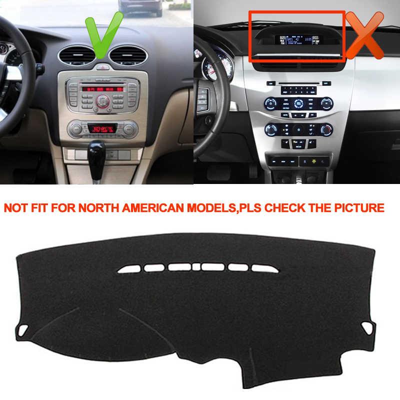 TAIJS приборной панели автомобиля крышка силиконовый нескользящий для Ford Focus 2 MK2 2005 2006 2007 2008 2009 2010 2011 Ковер Анти-УФ анти-скольжения