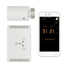 WIFI thermostatventil digitale programmierbare thermostat für heizkörper smartphone-app gesteuert(China)