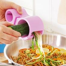 2017 Premium Vegetable Spiralizer Vegetable Noodle Cutter Zucchini Noodle Pasta Spaghetti Spirals Maker Julienne Cutter Peeler