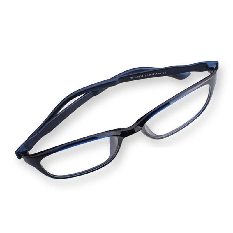 iboode Reading Glasses Men Anti Blue Rays Presbyopia Eyeglasses Antifatigue Computer Eyewear with +1.5 +2.0 +2.5 +3.0 +3.5 +4.0