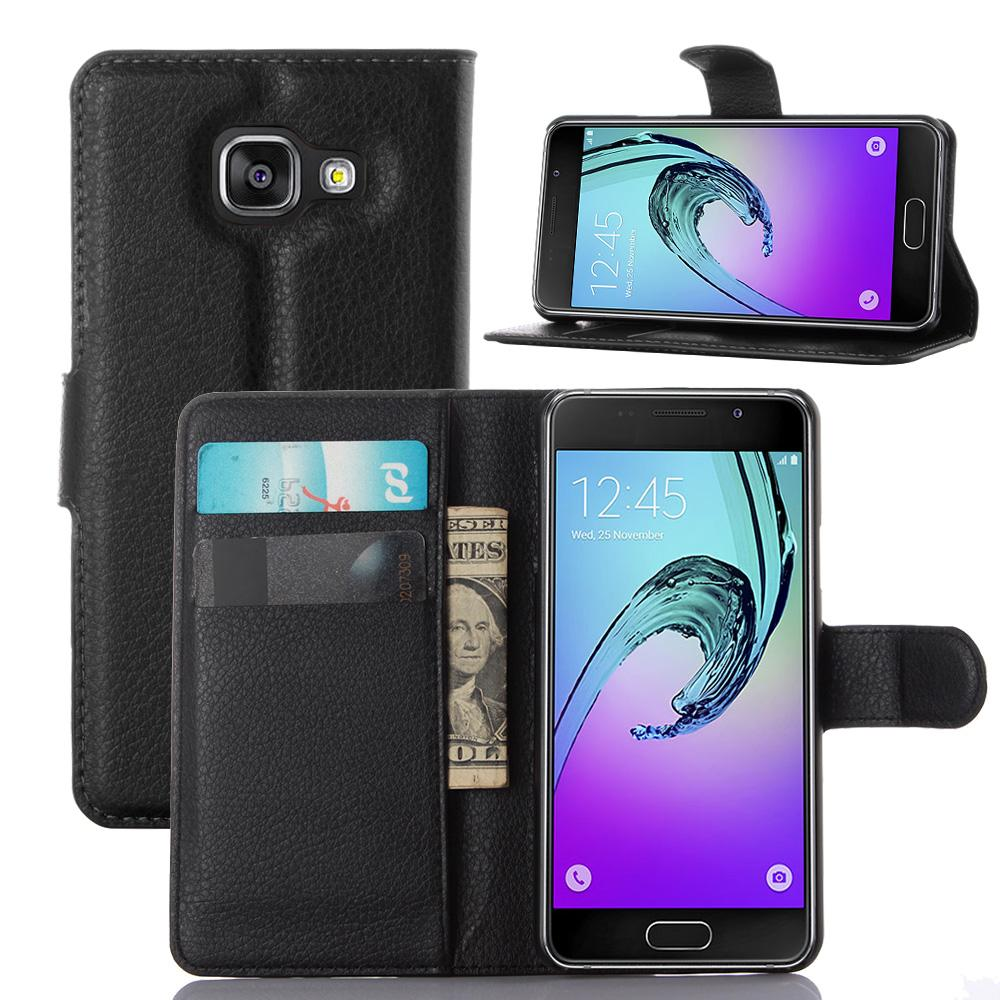 Pu leather case for samsung galaxy a7 2016 a710 peacock feather - For Samsung Galaxy A310 A3 2017 Case Cover 2017 Pu Lychee Luxury Flip Leather