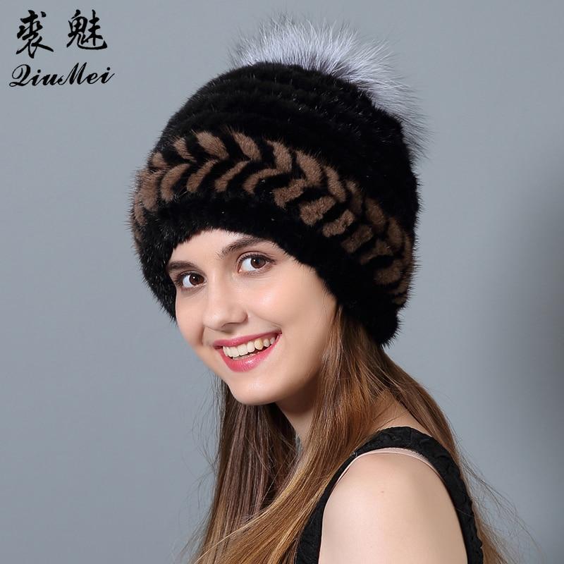 QiuMei Ženske klobuke iz naravne kože iz umetne kože Novo bežice - Oblačilni dodatki - Fotografija 1
