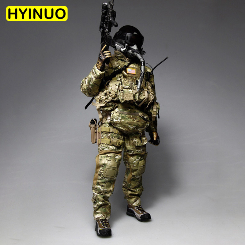 1/6 Scale VH1039 US Special Forces Paratrooper Men Air Force Individual Equipment Clothing Set F 12 Action Figure Male Body1/6 Scale VH1039 US Special Forces Paratrooper Men Air Force Individual Equipment Clothing Set F 12 Action Figure Male Body