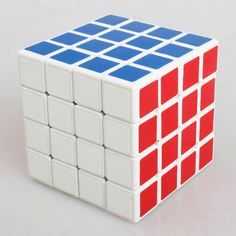 教育マジックキューブ 4*4*4 パズルキューブゲームプロのスピード抗ストレス緩和剤のおもちゃ子供のための子供大人