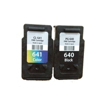 2PCS PG640 Ink Cartridge For Canon PG 640 CL 641 canon Pixma MG2160 MG3160 MG4160 MX376 MX436 MX516 printer ink