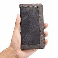 Original CaseMe Classic Luxury Retro Denim Case For IPhone 7 Case Wallet Case For IPhone 5s