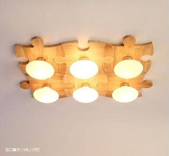 Japanese style DIY Delicate Crafts Wooden Frame  tatami led ceiling lights luminarias para sala  led ceiling lamp