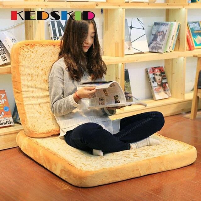 3d simulation de pain decoratif oreillers alimentaire pain farci en peluche poupees coussin canape home decor