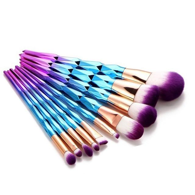 New Fashion Makeup Brush Foundation Eyebrow Eyeliner Blush Cosmetic Concealer Brushes Make Up Beauty Brushes Pincel Maquiagem Eye Shadow Applicator