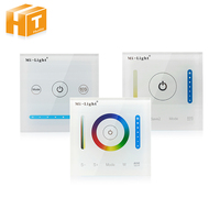 Mi Light Smart Led Panel Controller RGB RGBW RGB CCT Dimming Panel Color Temperature CCT Touch