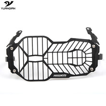For BMW R 1200 GS R1200GS ADV Adventure 2013 2014 2015 2016 Motorcycle Headlight Grill Guard Cover Protector For BMW  R1200GS motorcycle accessories headlight guard protector bracket for bmw r1200gs r1200 gs r 1200 gs lc adv adventure 2013 2014 2015 2016