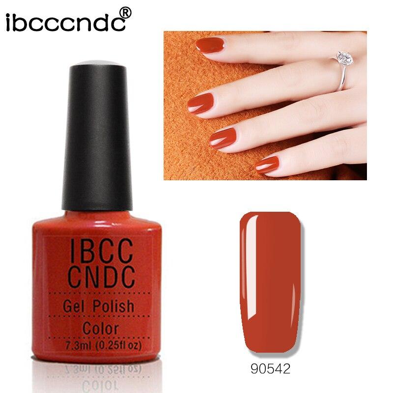 Fashion Brand IBCCCNDC Färgglada Nai Gel Polish 79 Charmiga Färger - Nagel konst