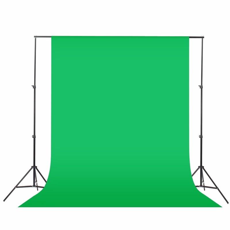 2x6meter Photography Studio Screen Chroma Key Background Backdrop Non Woven Black Green White Photo Background For Photo Studio