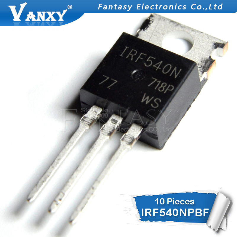 10 ADET IRF540N TO-220 IRF540NPBF TO220 IRF540 IR540 yeni ve orijinal IC10 ADET IRF540N TO-220 IRF540NPBF TO220 IRF540 IR540 yeni ve orijinal IC