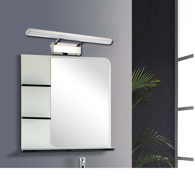 Mist proof led mirror lights modern minimalist bathroom cabinet mist proof led mirror lights modern minimalist bathroom cabinet front light mirror front light stainless aloadofball Gallery