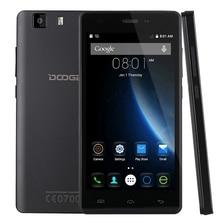 """Оригинал DOOGEE X5 5.0 """"IPS 1280*720 пикселей Android 5.1 смартфон MT6580 Quad Core 1.3 ГГц 1 ГБ + 8 ГБ 2400 мАч WCDMA"""