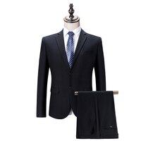 Business Suit Men 2017 Latest Coat Pant Design Daily Pant Suit Slim Fit Fashion Suits Pattern