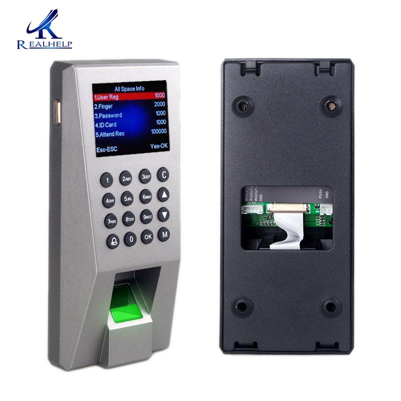 2 en 1 empreinte digitale RFID porte accès contrôleur bureau carte lecteur contrôle porte serrure USB empreinte digitale optique Scanner lecteur