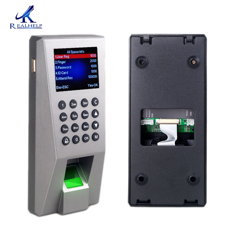 2 in 1 Fingerprint RFID Door Access Controller Office Card Reader Control Door Lock USB Fingerprint Optical Scanner Reader 2 dx in door