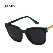 JAXIN Fashion Square Sunglasses Women Korean Sun Glasses Men Brand Design Retro Trend Eyewear okulary UV400oculos