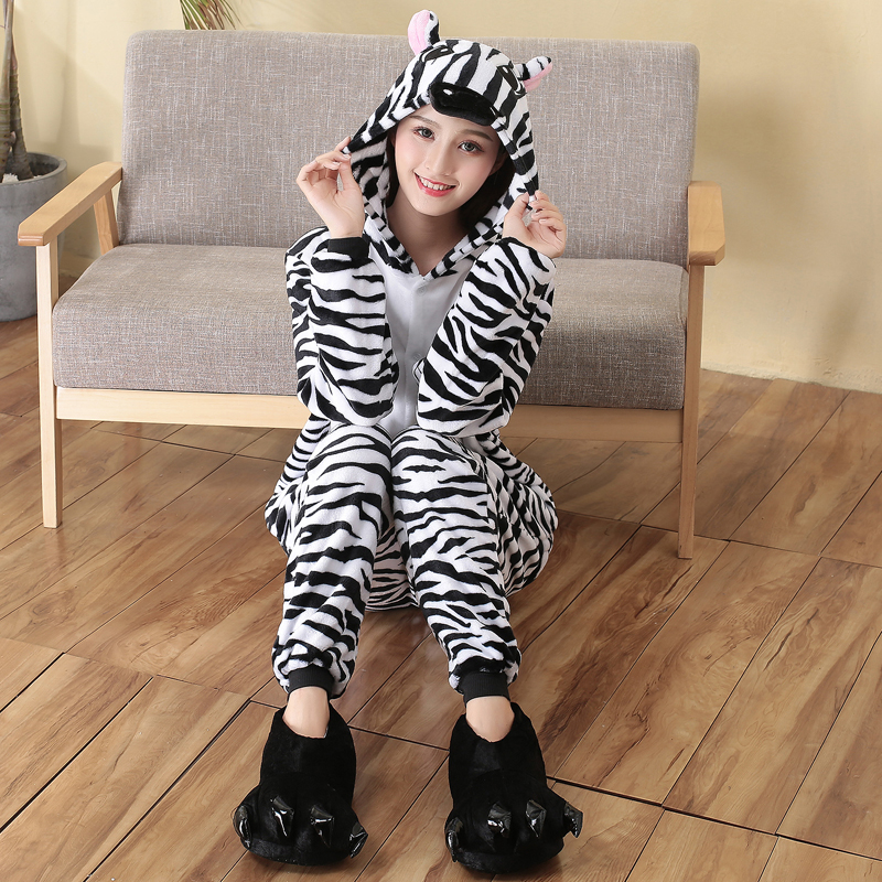 cosplay zebra onesie for Halloween