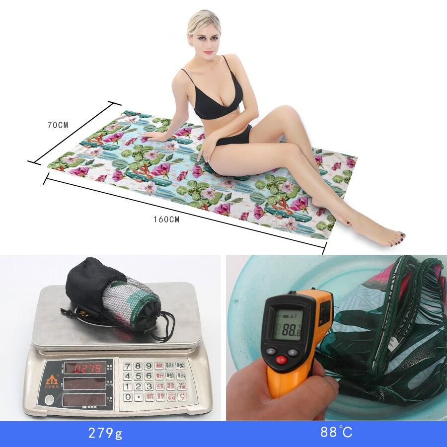 GNORRIS Printed Mandala Microfiber Geometric towels Quick drying Travel Sports towel Blanket Bath swim Camping beach towel